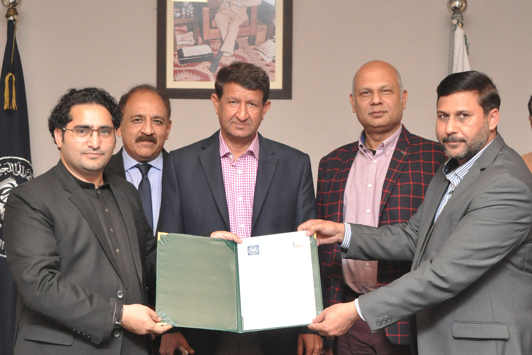 MoU signed with Indus Broadcasting and Corporation to help students hone their skills